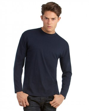 B&C Men's Long Sleeve T-shirts for Personalised Clothing