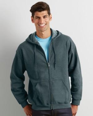Gildan Heavy Zip Men's Hoodies for Promotional Clothing