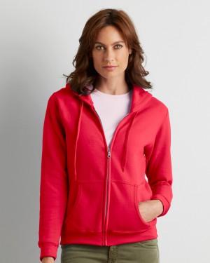 Gildan Zip Ladies Personalised Hoodies