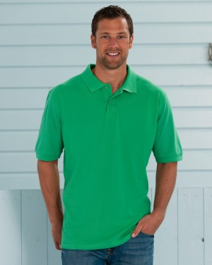 Russell's Men's Classic Cotton Custom Polo Shirts