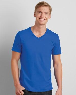 Gildan Softstyle Men's V-neck T-shirt